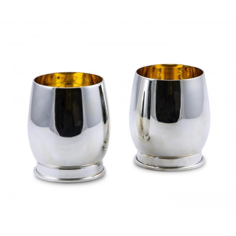 Bicchiere Spinner in Argento