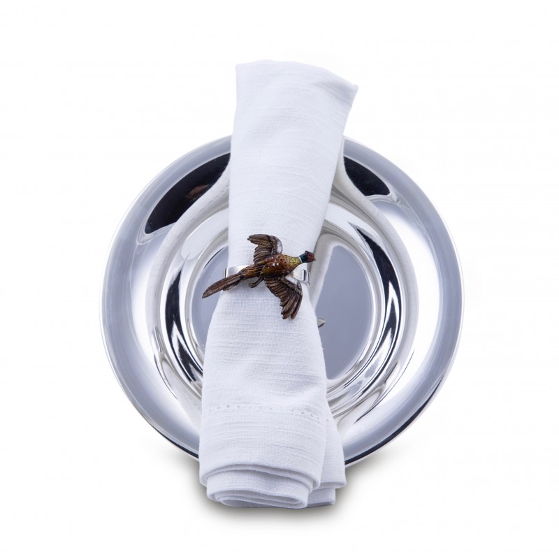 Napkin ring with Pheasant