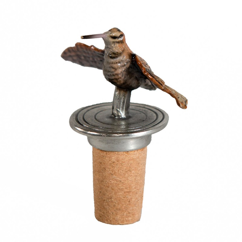Woodcock Bottle Stopper
